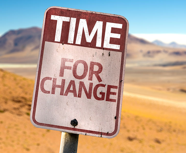 Time for change - jetzt oder nie!