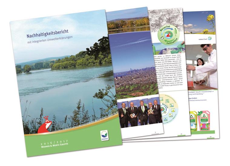 Nachhaltigkeitsbericht Werner & Mertz