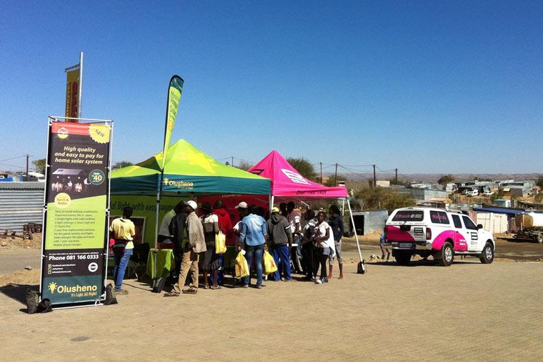 Olusheno-Projekt in Namibia