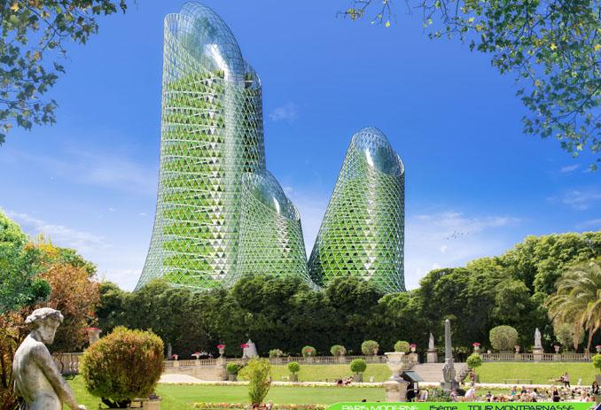 Paris urban gardening hydroponic