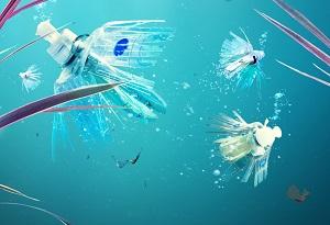 Der sogennante Plastik Phish ©SodaSream