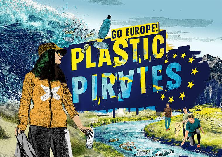 Plastic Pirates go Europe