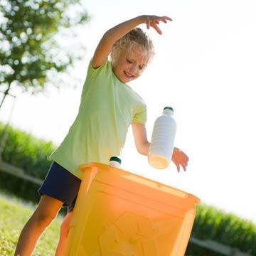 Effektives Recycling gegen Plastikmüll