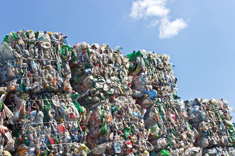 China stoppt den Import von europäischem Müll