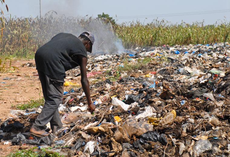 Plastikmüll in Afrika