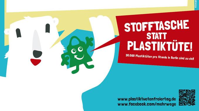 Plastiktütenfreier Tag Berlin