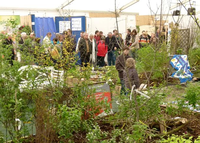 Interessierte finden auch Tipps rund um das Thema Gartenbau. © RAM Regio Ausstellungs GmbH