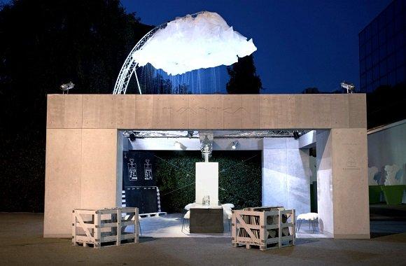 Haus macht aus Regenwasser Trinkwasser: RainHouse aus Bio-Beton von IVANKA