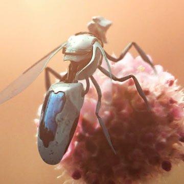 Übernehmen Roboterbienen bald das Bestäuben?