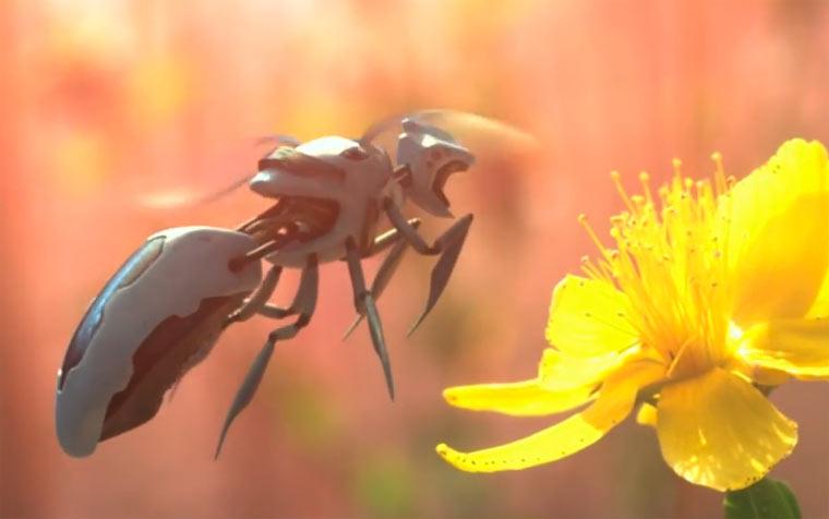 Drohnen statt Bienen – sieht so die Zukunft aus?