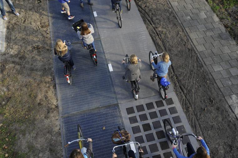 Solarradweg in den Niederlanden: Radweg erzeugt Strom