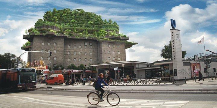 Ein grüner Bunker für St. Pauli