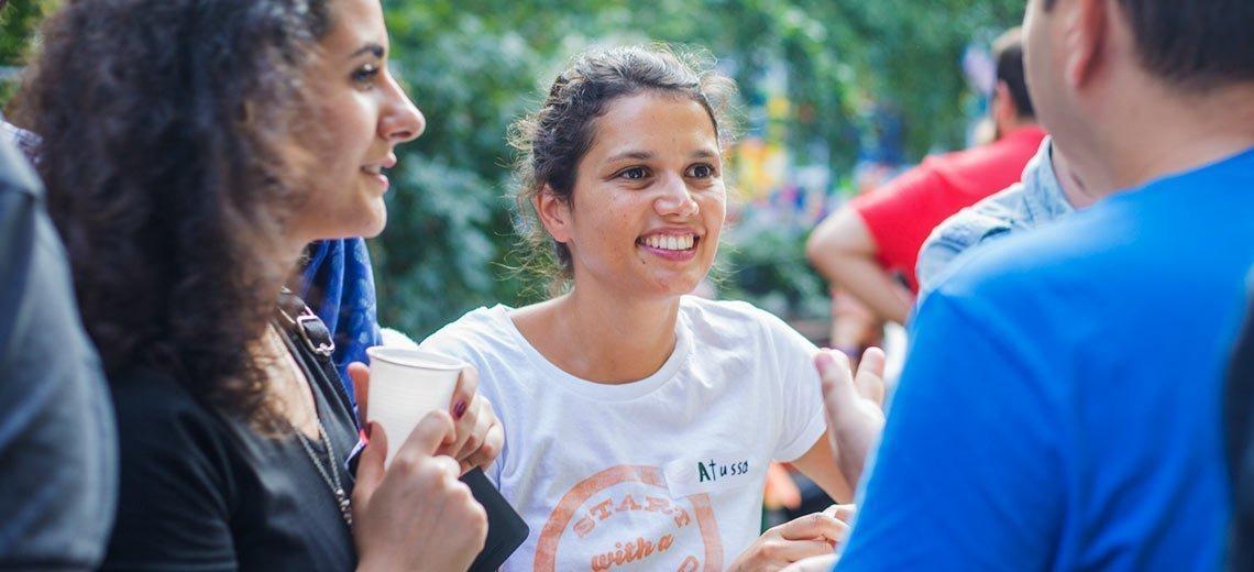 Integration kann so einfach sein: Freundschaftliche Flüchtlingshilfe