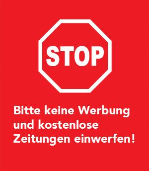 Stop – Bitte keine Werbung