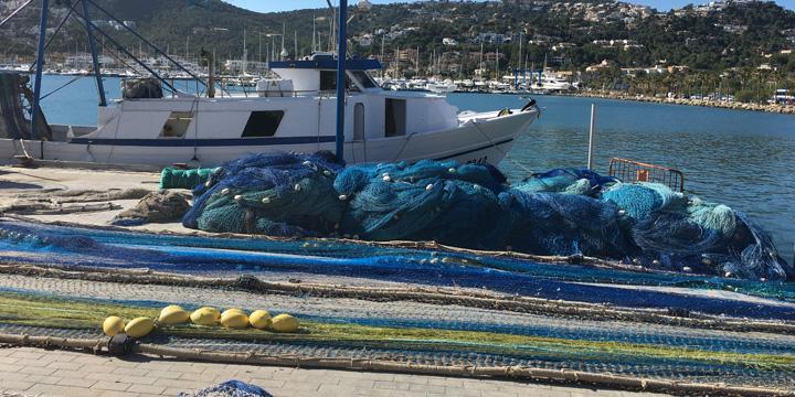 Upcycling-Teppiche mit Garn aus den Meeren