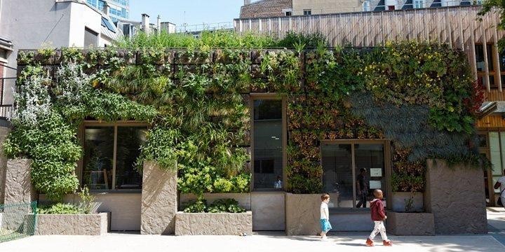 Urbane Gärten für ein grünes Paris