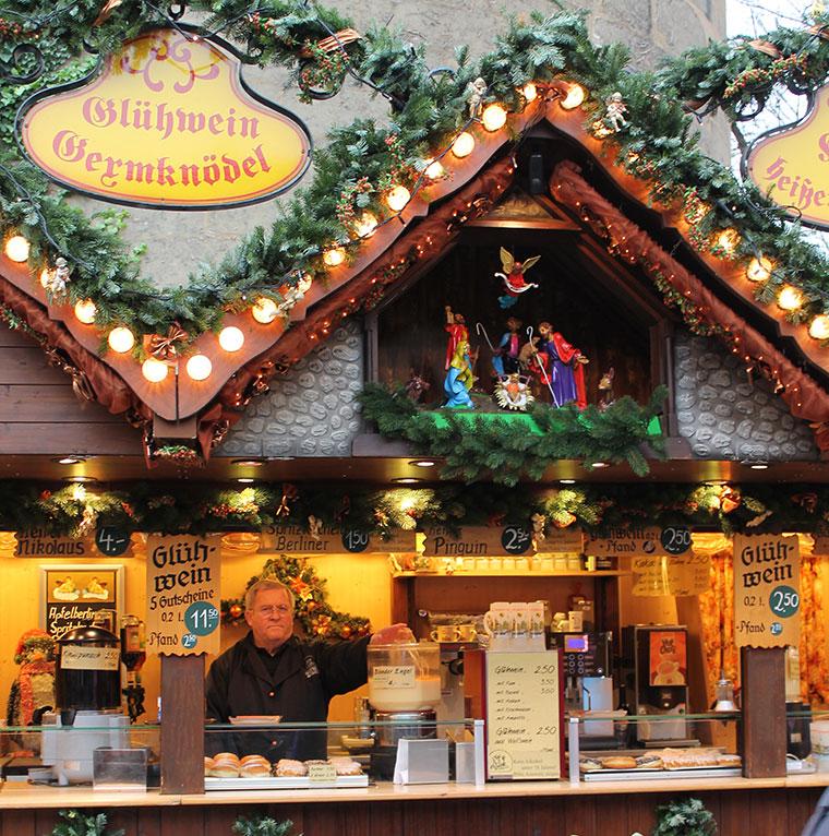 Glühwein auf dem Stuttgarter Weihnachtsmarkt