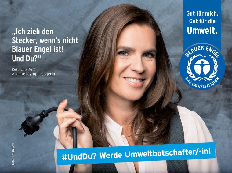 Katarina Witt ist Umweltbotschafterin