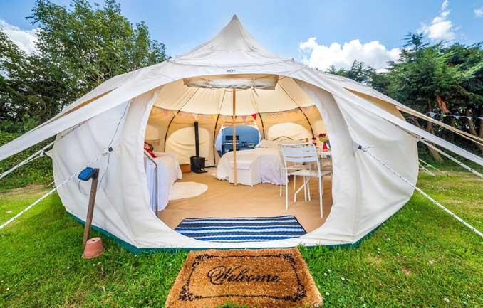 Camping ohne Verzicht