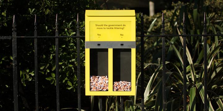 So können Sie mit Zigaretten abstimmen