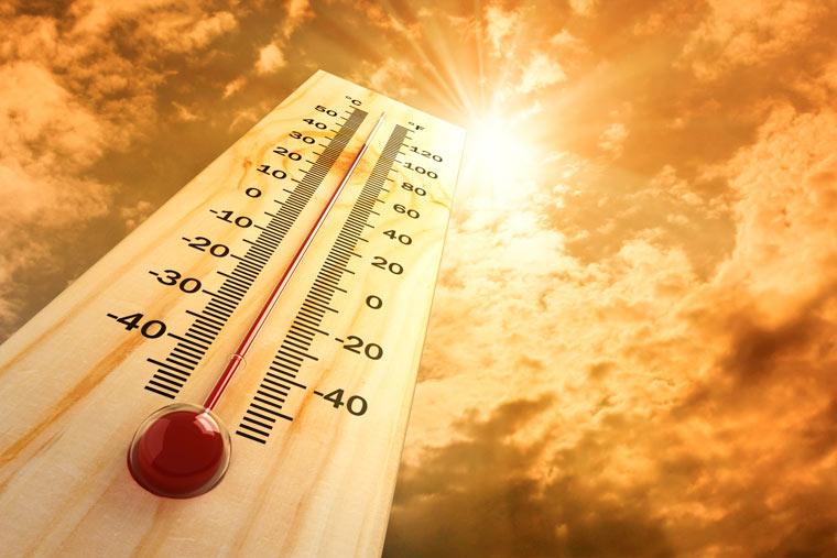 extreme Hitze
