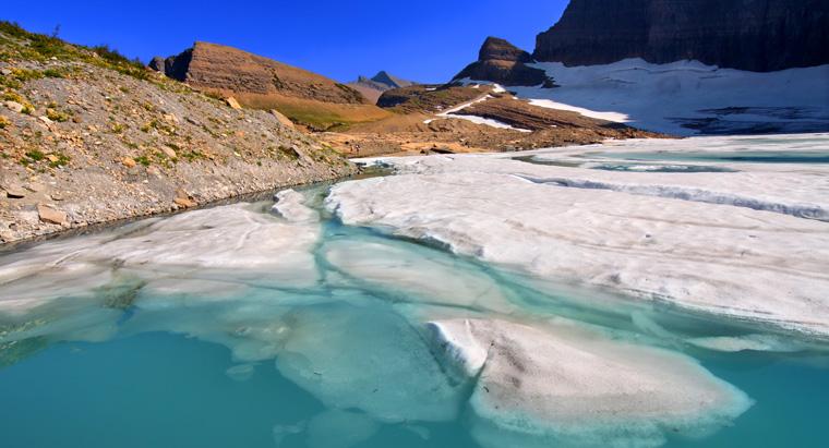 Es ist kein Geheimnis, dass die Gletscher schmelzen.