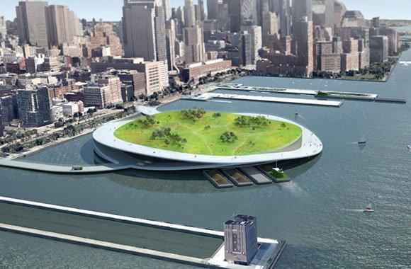 Kluge Abfallwirtschaft schafft neue Flächen in New York