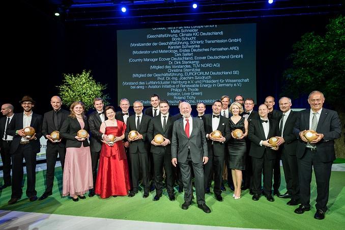Die Preisträger der GreenTec Awards © GreenTec Awards