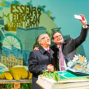 Essen ist grünste Hauptstadt Europas