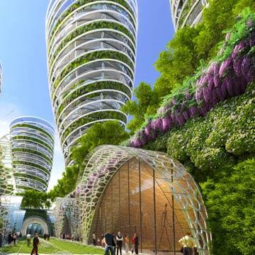 Großstadtgärten von morgen in Paris