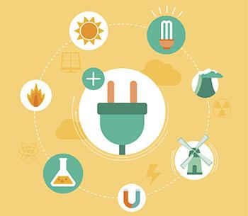 Energie kann auf viele Weisen gewonnen werden und ist vielfältig einsetzbar © Marvid (iStockphotos/thinkstock)