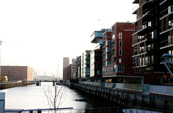 Hamburger Hafen-City: Energieeffizient und umweltgerecht