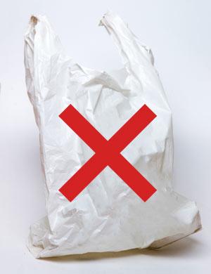 Keine Plastiktüten