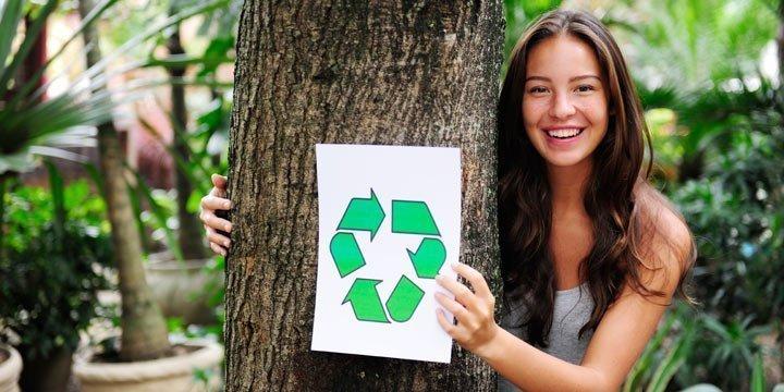 Modernes Recycling - ebenso trendy wie effektiv
