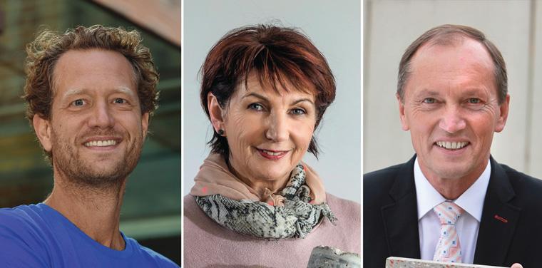 Bas van Abel, Angelika Mettke und Walter Feeß erhalten den Deutschen Umweltpreis 2016
