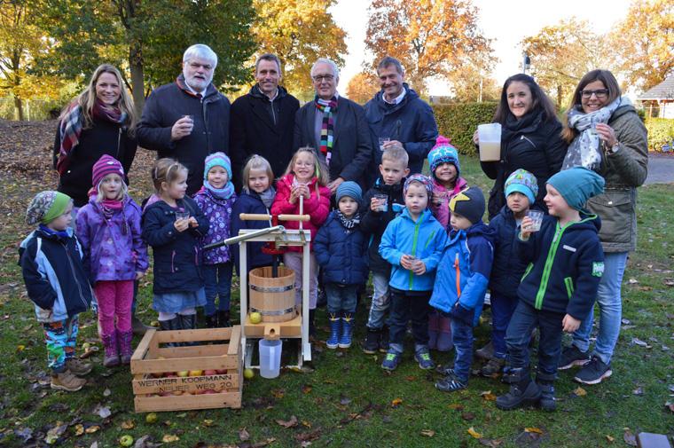 Kindergarten setzt sich für Umweltschutz ein