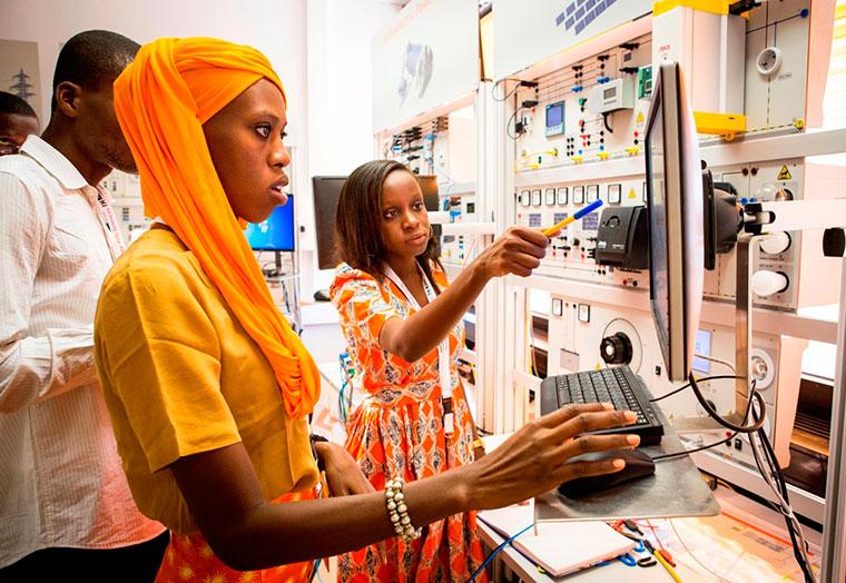 Bei der ersten von drei Sommerschulen lernten senegalesische Studenten Forschung und Lehre an der TH Köln kennen