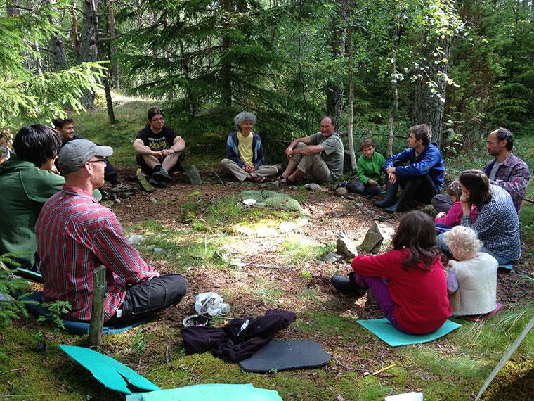 Altes Wissen in junge Hände - Naturworkshop in der Eifel