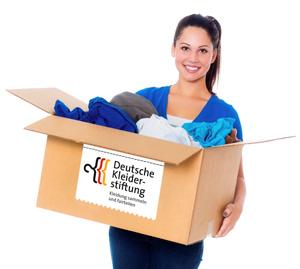 Deutsche Kleiderstiftung Paketspende