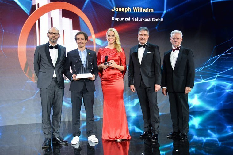 Rapunzel Naturkost erhält Entrepreneur of the Year 2017