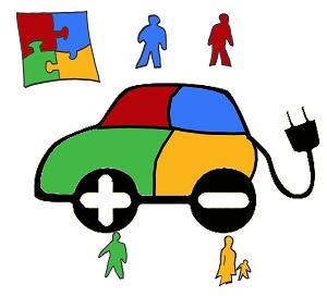Neues über Elektromobilität erfahren ©GreenCity e.V.
