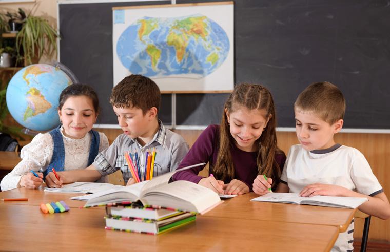 Kinder lernen über Umweltschutz und Nachhaltigkeit
