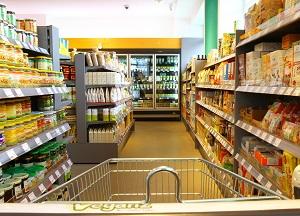 Die Auswahl an veganen Produkten bei Veganz ist groß ©Veganz
