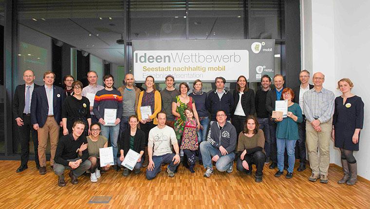 Ideenwettbewerb für Mobilität in Aspern