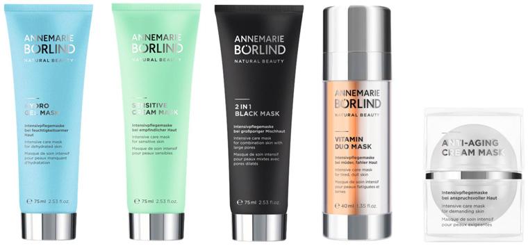 Fünf Beauty Masken für intensive Pflege und Wohlbefinden