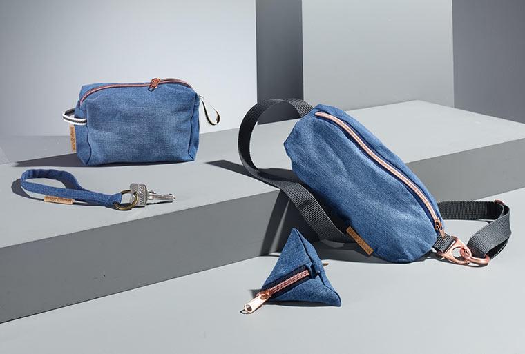 Taschen aus aussortierten Jeans