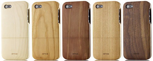 iphone cover aus holz schicke recycelbare iphone h llen von idryad. Black Bedroom Furniture Sets. Home Design Ideas