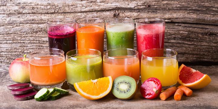 Gesundes Fasten mit wertvollen Naturkostsäften