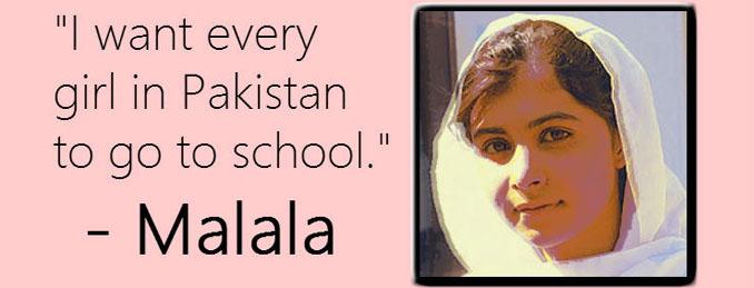 Malala Yousafzai Friedensnobelpreis