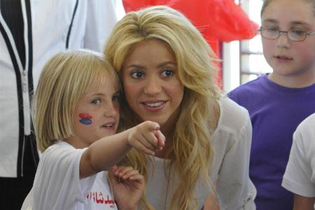 Shakira hat ein Herz für soziale Projekte. Foto: UNICEF